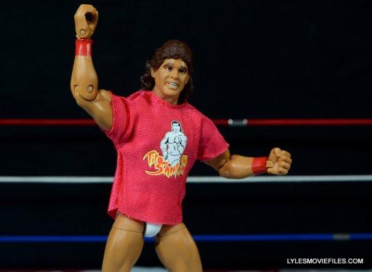 Tito Santana Mattel Hall of Fame figure -wearing T-shirt arriba