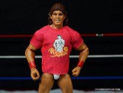 Tito Santana Mattel Hall of Fame figure -wearing t-shirt