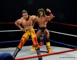 Ultimate Warrior Hall of Fame figure - Rude reacts to atomic drop