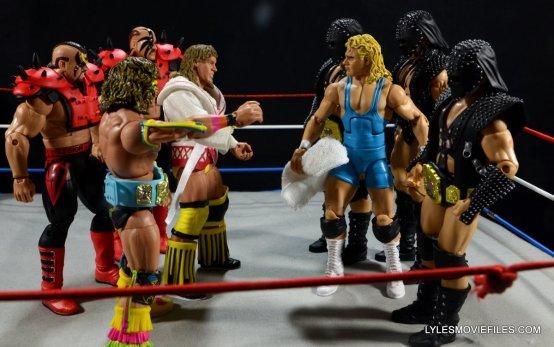 Ultimate Warrior Hall of Fame figure -Survivor Series 90 matchup