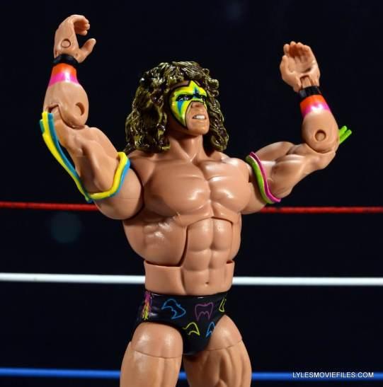 Ultimate Warrior Hall of Fame figure -Warrior pose