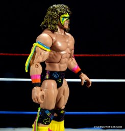 Ultimate Warrior Hall of Fame figure -right side detail