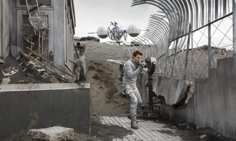 oblivion movie review -tom cruise as jack