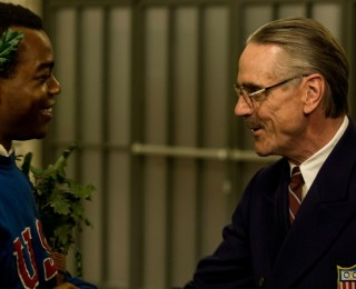 race movie review - stephan james and jeremy irons