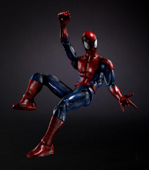 spider-man marvel legends - ultimate peter parker
