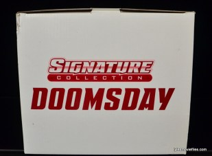 DC Signature Series Doomsday figure review - box top