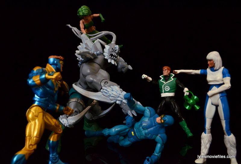 DC Signature Series Doomsday figure review - vs Justice League