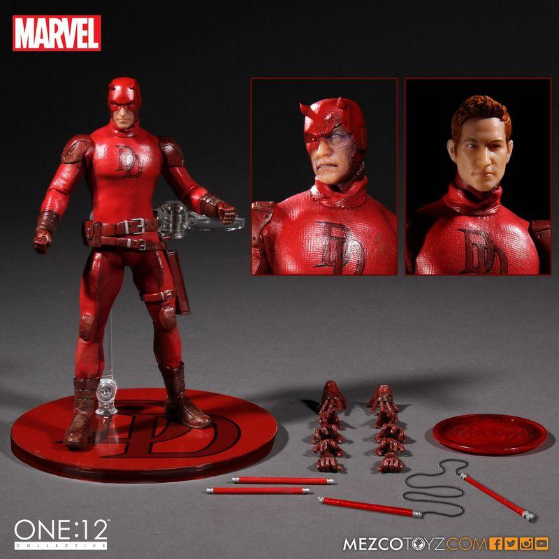 Dardevil One 12 Mezco Toyz figure -accessories