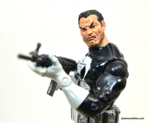 Marvel Legends Series 4 Punisher -aiming machine gun