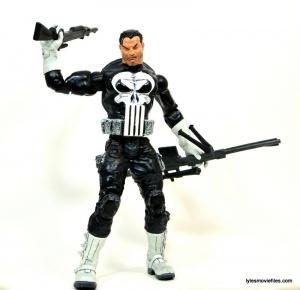 Marvel Legends Series 4 Punisher -holding arsenal