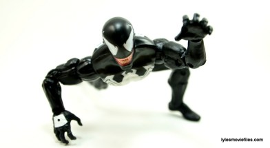 Marvel Legends Venom figure review - crawling 2