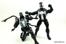 Marvel Legends Venom figure review - with Agent Venom