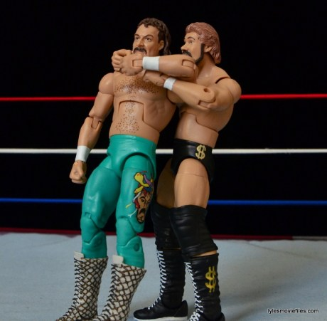 Mattel Ted DiBiase Hall of Fame figure review - Million Dollar Dream to Jake the Snake