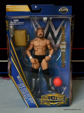 Mattel Ted DiBiase Hall of Fame figure review - front package