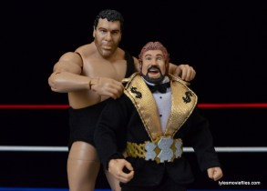 Mattel Ted DiBiase Hall of Fame figure review - with Andre the Giant