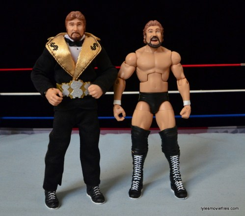 Mattel Ted DiBiase Hall of Fame figure review - with Entrance Great figure