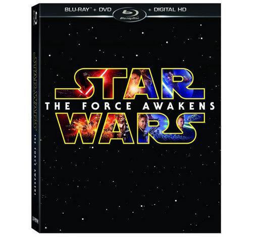 Star Wars The Force Awakens Blu-rayDVD Press   Artwork
