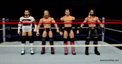 WWE Basic Finn Balor figure review - scale with CM Punk, Daniel Bryan, Finn and Seth Rollins