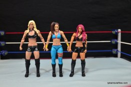 WWE Bayley figure review - with Charlotte and Sasha Banks
