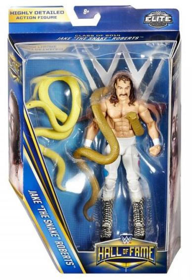 WWE Hall of Fame series 4 - Jake the Snake Roberts in package