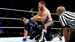 WWE Roadblock - Stardust vs Sami Zayn