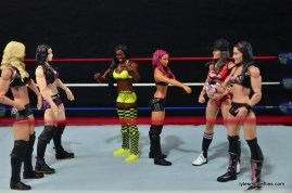 WWE Sasha Banks figure review - Team PCB vs Team BAD vs Team Bella