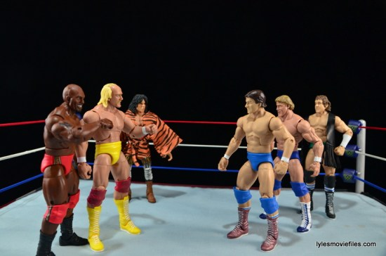 Wrestlemania 1 - Mr. T, Hulk Hogan, Jimmy Snuka vs Roddy Piper, Paul Orndorff and Bob Orton