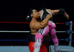 Wrestlemania 10 - Yokozuna bear hugs Bret Hart