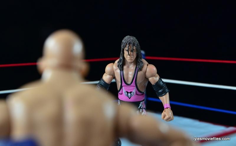 Wrestlemania 13 - Bret Hart vs Stone Cold - face off