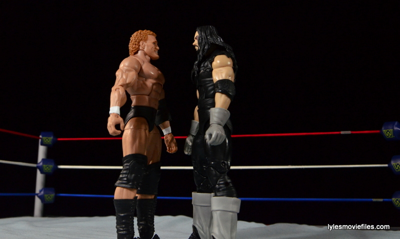 Wrestlemania 13 - Sycho Sid vs The Undertaker - face off