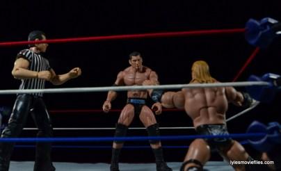 Wrestlemania 21 - Batista vs Triple H - Triple H begging off
