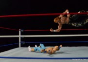 Wrestlemania 23 - John Cena vs Shawn Michaels - elbow drop