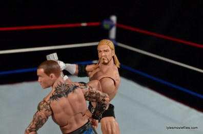 Wrestlemania 25 - Randy Orton vs Triple H - Triple H hits sledgehammer