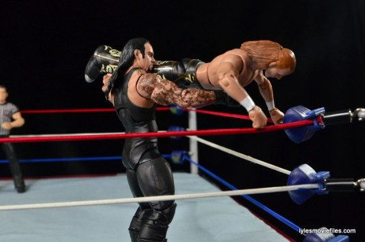 Wrestlemania 26 - The Undertaker vs Shawn Michaels - snake eyes