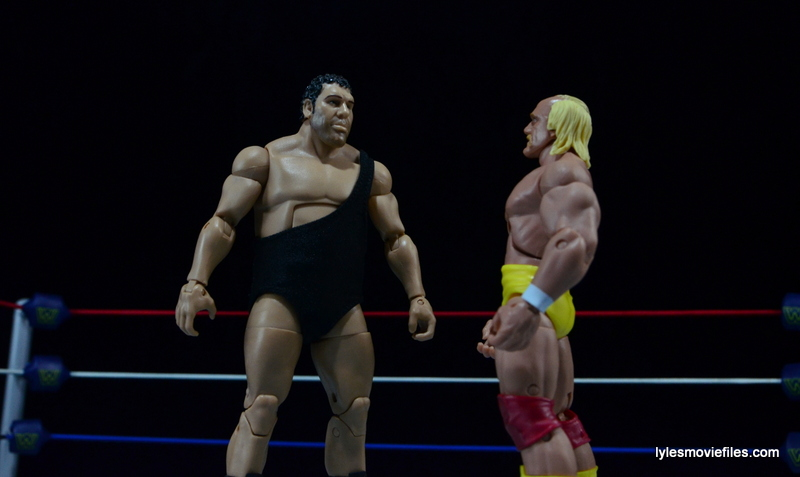 Wrestlemania 3 - Andre faces off with Hulk Hogan
