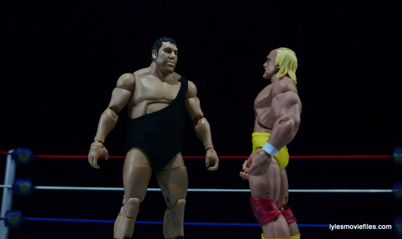 Wrestlemania main events action figure style