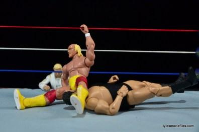Wrestlemania 3 - Hogan legdrops Andre