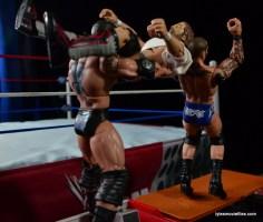 Wrestlemania 30 - Daniel Bryan vs Randy Orton vs Batista -RKO Batista Bomb combo