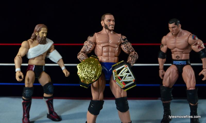 Wrestlemania 30 - Daniel Bryan vs Randy Orton vs Batista -triple threat