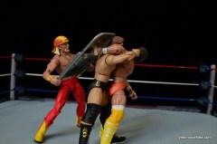 Wrestlemania 4 -Hogan smashes DiBiase with a steel chair