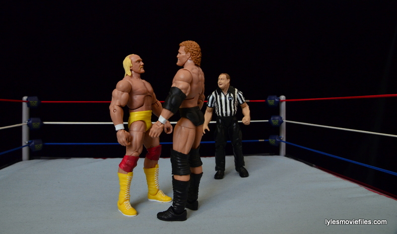Wrestlemania 8 - Hogan vs Sid - face off