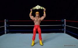 Wrestlemania 9 -Hulk Hogan celebrates with world title