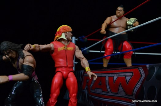 Wrestlemania 9 - Yokozuna challenges Hulk Hogan