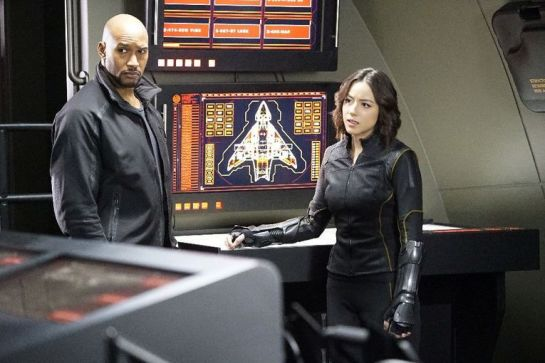 agents of shield parting shots review -mack and daisy
