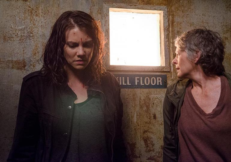 the walking dead the same boat review - maggie and carol