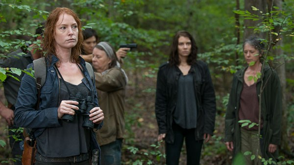 the walking dead the same boat review -polly, carol and maggie