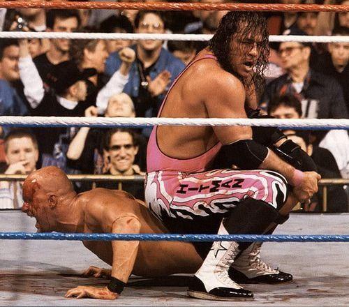 wrestlemania 13 - stone cold vs bret hart