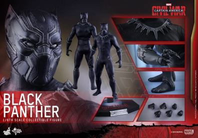 Hot Toys Black Panther figure -collage