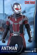 Hot Toys Civil War Ant-Man figure -at attention