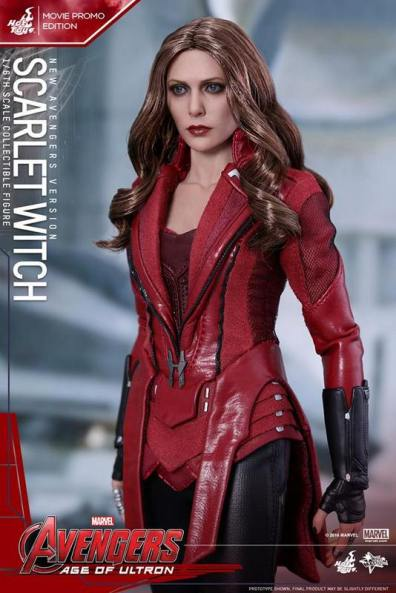 Hot Toys New Avengers Scarlet Witch - close up